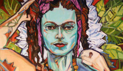"Detail from ""Frida Kahlo"""
