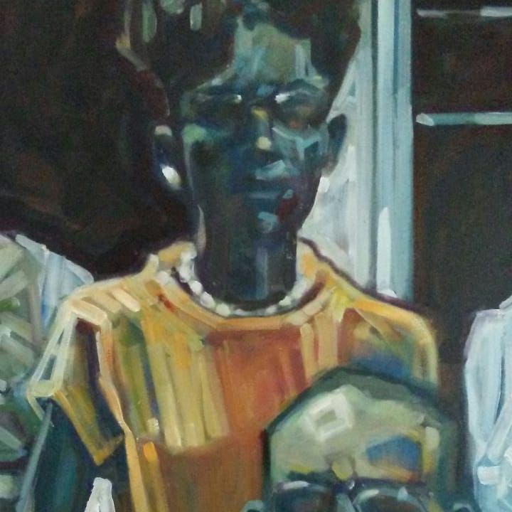 "Detail from ""Family photo"""