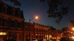 View of downtown Fredericksburg