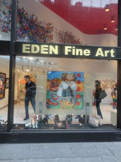 Midtown Manhattan window display