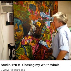 Studio 120 #367 Chasing my white whale