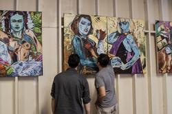 An Artfront pop up @ The Art Factory