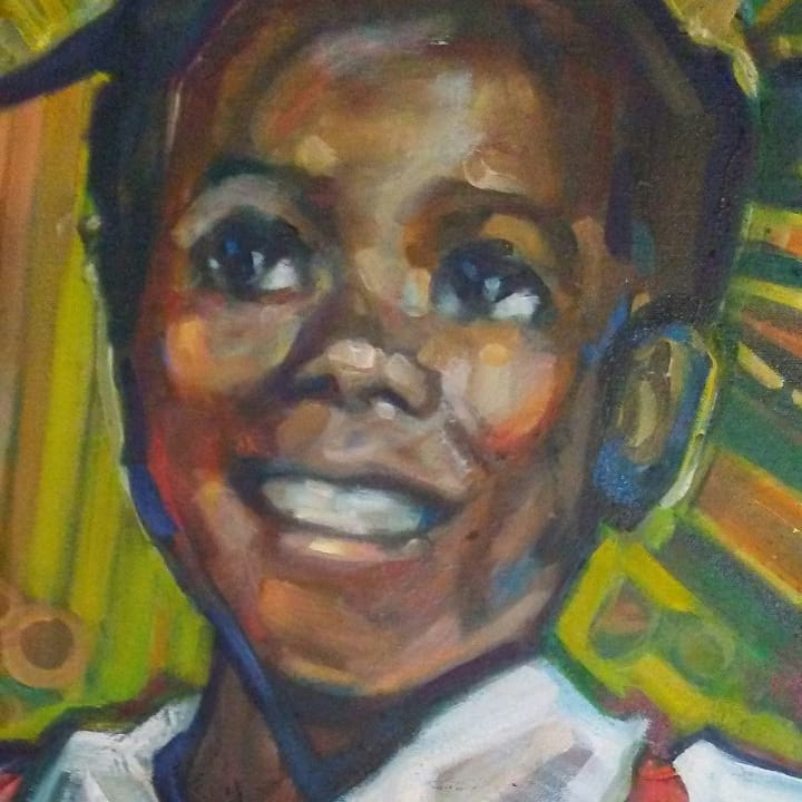 "Detail from ""Ruby Bridges"""