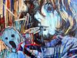Portrait of artist Jeremy Arruda
