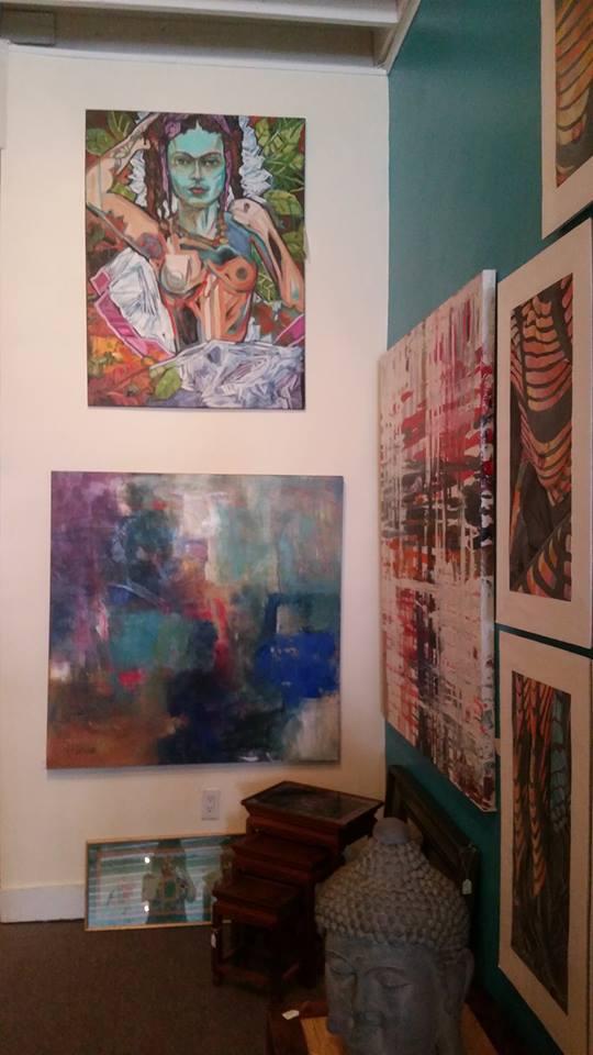 Frida on display at blu Egg