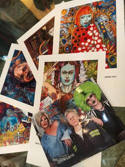 Prints and portfolio book