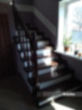 Scari de interior din lemn