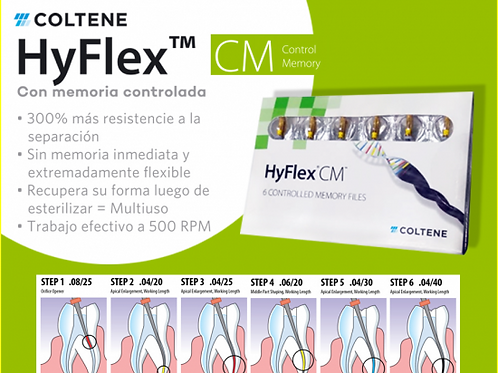 HYFLEX EDM ABRIDOR DE ORIFICIO