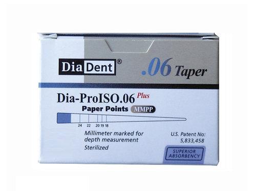 Conos Papel Diadent Taper 06%  Esteril