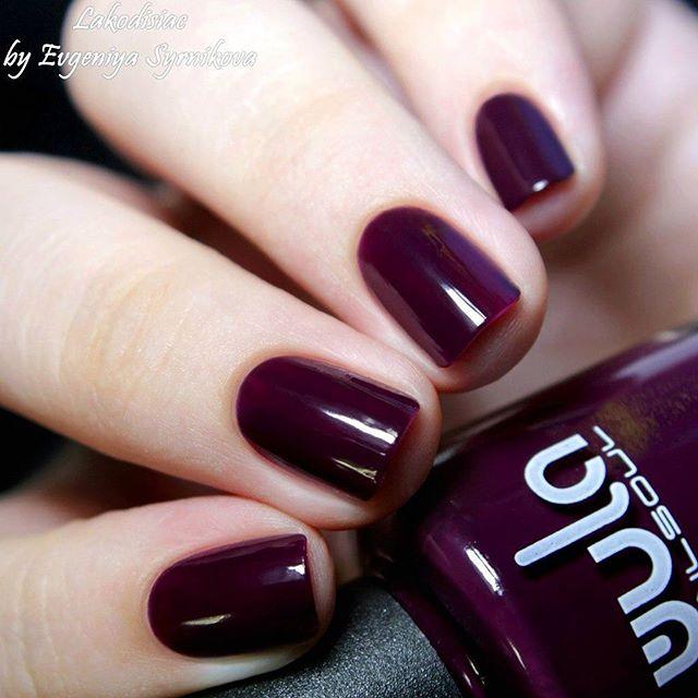 Роковой фиолетовый #wula_#wula_nailsoul #wulanailsoul #purplenails