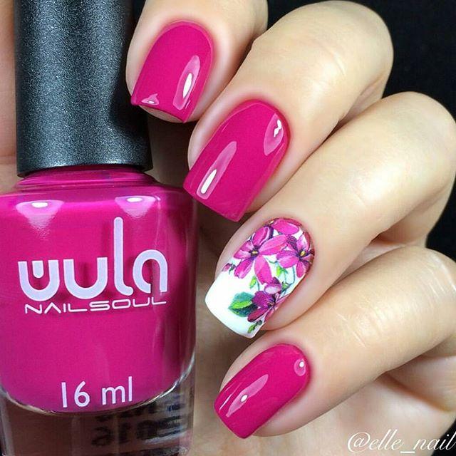 По-весеннему яркий маникюр _elle_nail c #wula_nailsoul 28 😍🌸_#wulanailsoul #wula