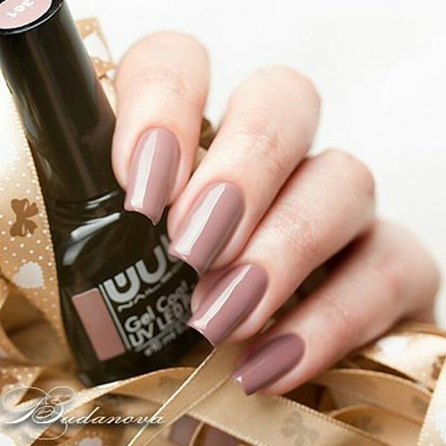 Красавец цвета какао гель-лак #wulagel 361на ноготках _anny_budanova ☕_#wula #wula_nailsoul #wulanai