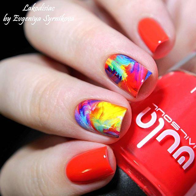 Просто взрыв цвета! ❤️💛💙 #wula_nailsoul #wulanailsoul #wula