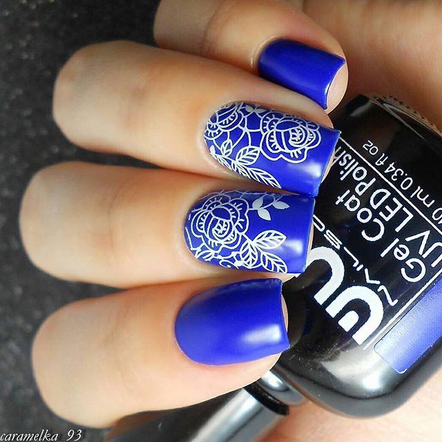 Любите синие_ Тогда совершенно точно вам понравится #wulagel 373 💙_#wula_nailsoul #wula #wulanailso