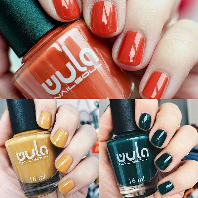 В нашей палитре найдутся оттенки на любой вкус и под любой образ 👗👢_#wula #wulanailsoul #wula_nail