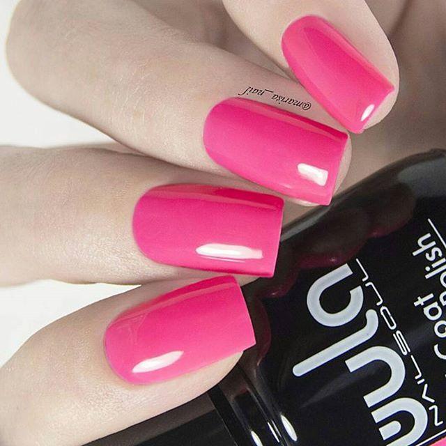 Розовый #wulagel 399 - отличный выбор на все времена 😉_Прекрасные ноготки _marisa_nail_#wula #wula_
