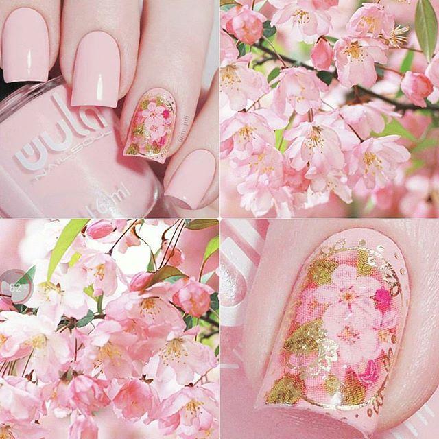 Бесконечно нежные, весенние оттенки от #wula_nailsoul украсят ваши пальчики и подарят романтический