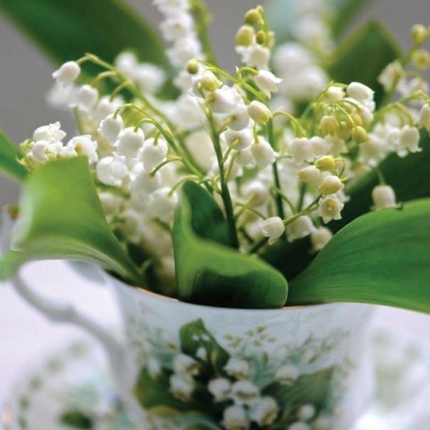 Workshop bloemschikken: meiklokjes