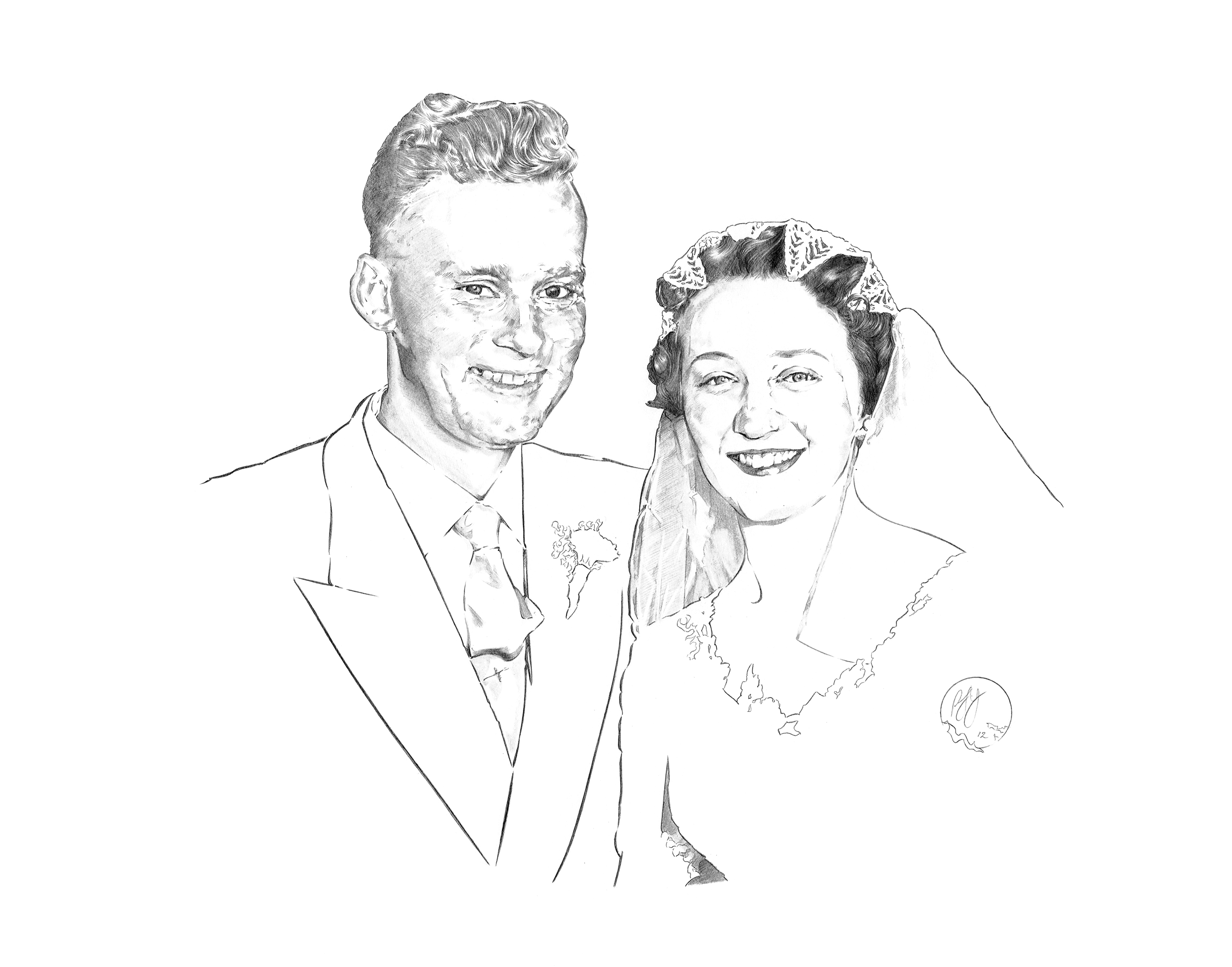 Grandparents Wedding Day
