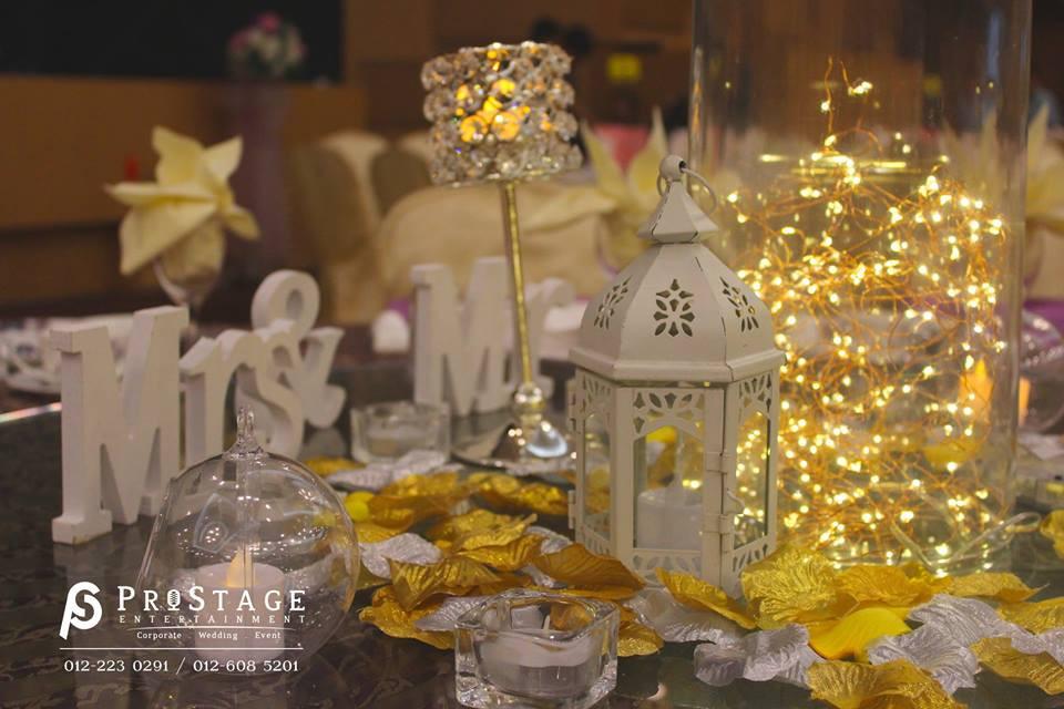 wedding dinner theme