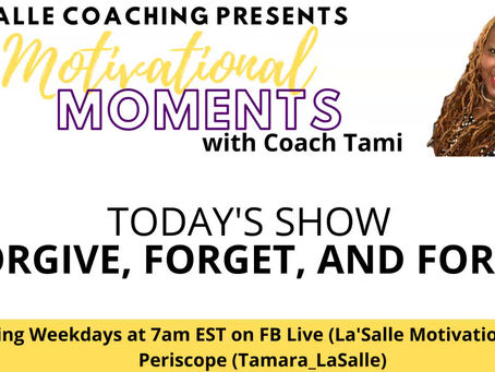 Motivational Moments with Coach Tami: Quarantine 15: 15 Steps to a Better You (5/6/2020)