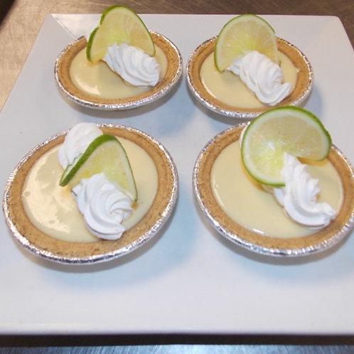 Key Lime Pies w/ Graham Graham Cracker Crumb