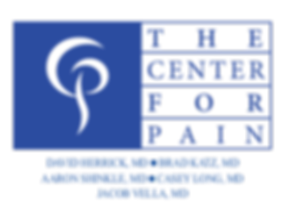 Center for Pain logo with dr - new 2019.