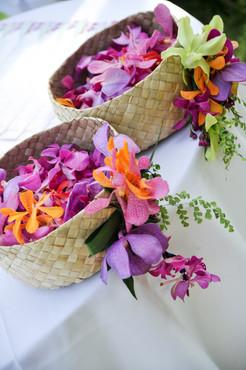 Custom Flower Girl Baskets