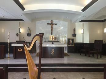 Catholic wedding at St. Vincent
