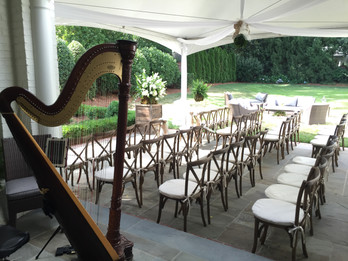 Backyard Wedding in Myers Park