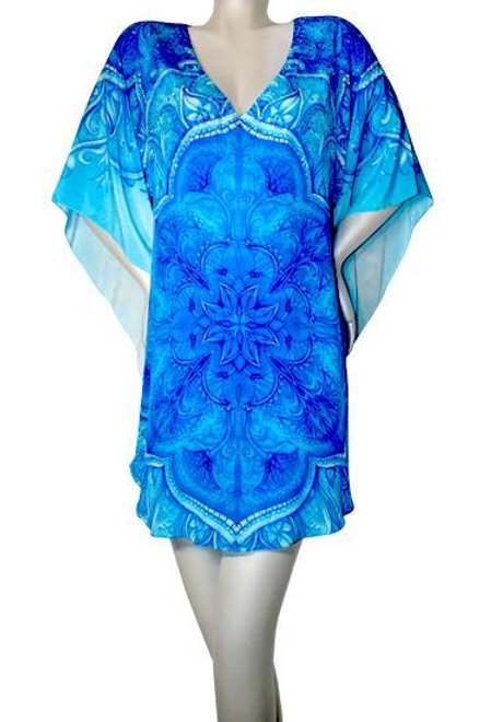 Tunic refined by artistic patterns. Monte Carlo