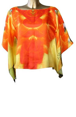Tunic with parrot plumage - Parrot feathers