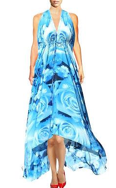 Dress in silk. Love