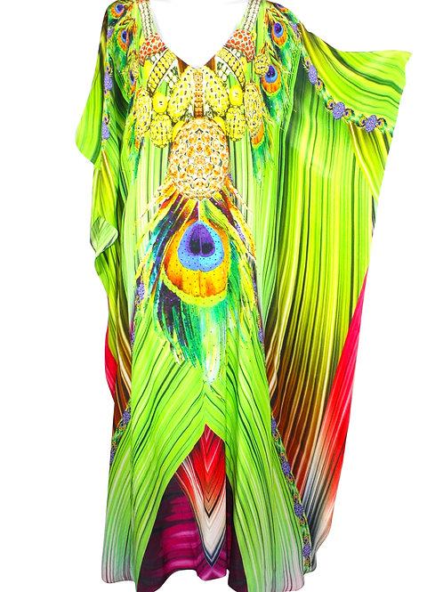 Kaftan dress. French Caribbean