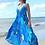 Thumbnail: Halter dress in silk . Marguerite