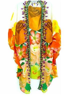 Kimono. French Bouquet