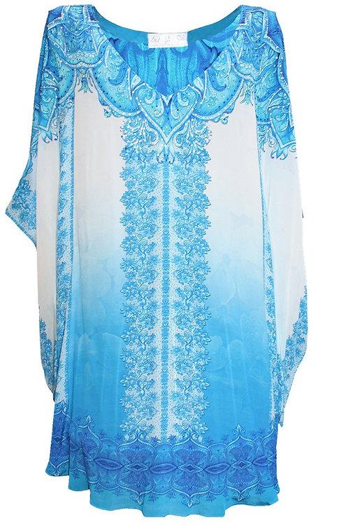 Mini Dress short kaftan. French Lady