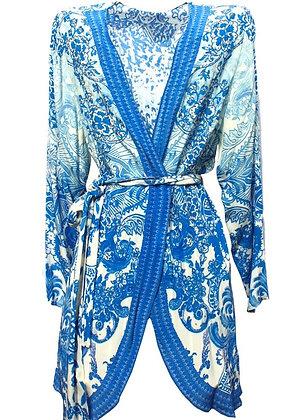 Floral kimono jacket. Victoria