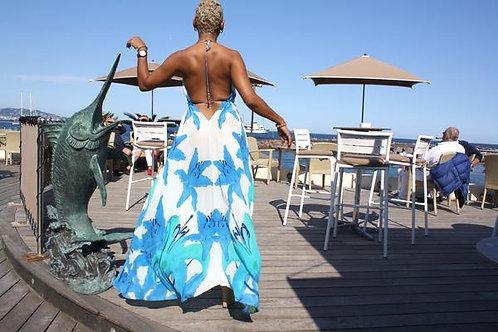 Dress in silk. French Lover.