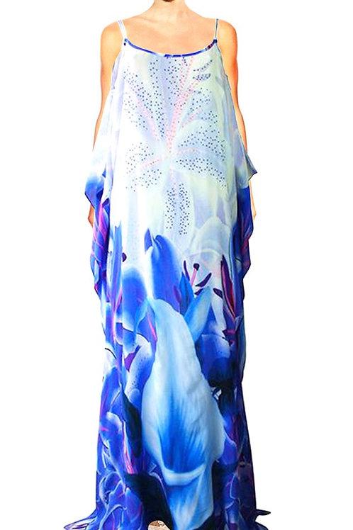 Dress Alluring Iris Flowers. La Vie est Belle