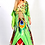Thumbnail: Green Kaftan dress. French Caribbean