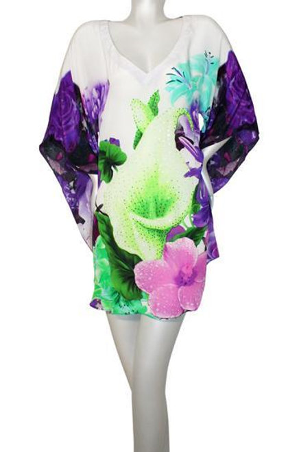 tunic with flowers. Belle de jour