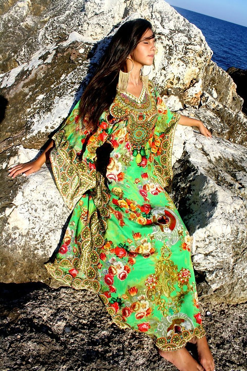 Dress with Sumptuous little flowers. Petites Fleurs