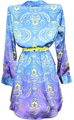 Ladies shirt. Royalty blue