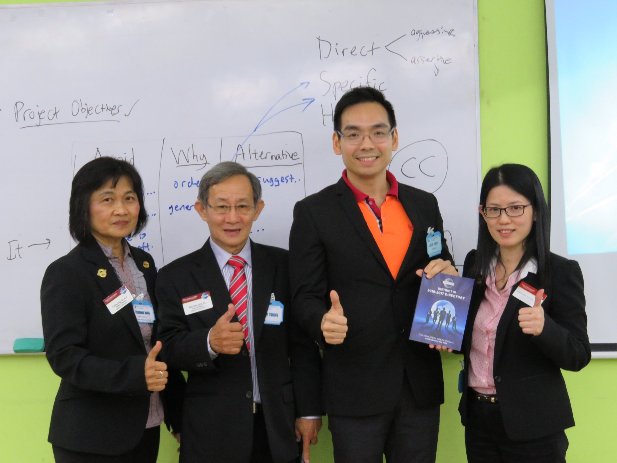 LOUIS YEOH with TOASTMASTER SENIOR