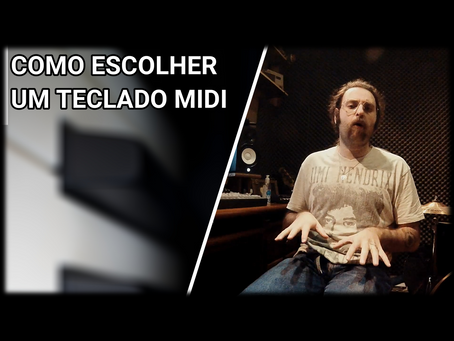Como escolher um Teclado MIDI