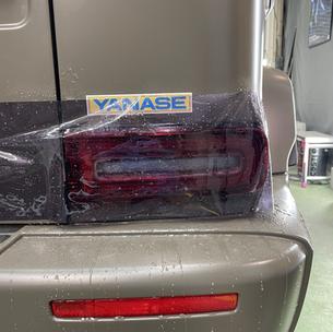 メルセデスベンツ ゲレンデ G63 AMG テールライト スモークプロテクションフィルム 透過率45%