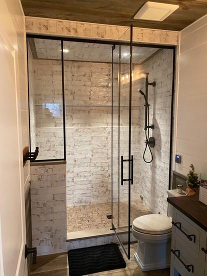 Full Height Framed Shower