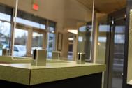 Plexi Glass Barrier_ Kennedy Reception D