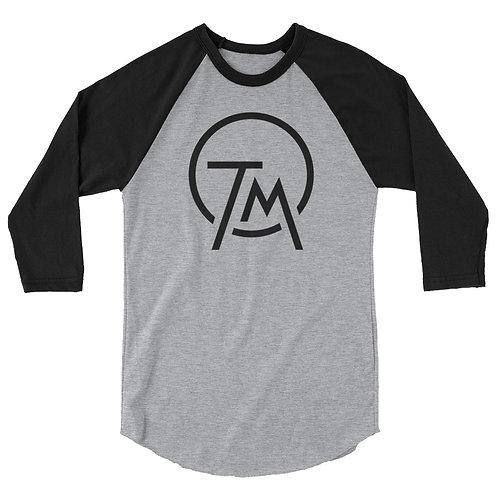 Trae Myers TM Logo 3/4 Sleeve